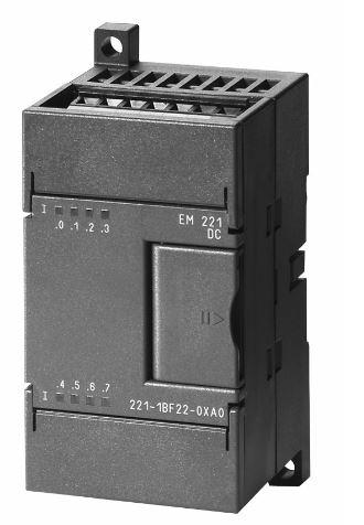 西门子plc模块em223 4输入4输出